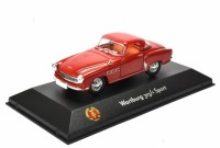 1:43 WARTBURG 313-1 Sport 1957 Red