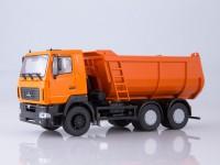 1:43 МАЗ-6501 самосвал U-образный кузов, оранжевый