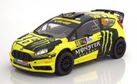 1:18 FORD Fiesta RS WRC #46 Monster V.Rossi/C.Cassina Rally Monza 2015