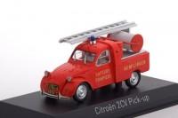 1:43 CITROEN 2CV Pick-Up with Ladder 'Pompiers' (пожарный) 1963