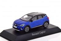 1:43 RENAULT Captur кроссовер 2020 Blue/Black Roof