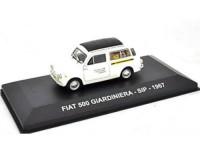 "1:43 FIAT 500 GIARDINIERA ""SIP"" 1967 White/Black"