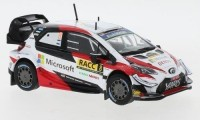 "1:43 TOYOTA Yaris WRC #8 ""Microsoft"" Tänak/Järveoja Rally Catalunya 2019"