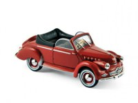 1:43 PANHARD Dyna X Cabriolet 1951 Red