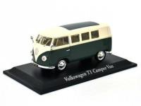 1:43 VW TI CAMPER VAN 1958 Green/Beige