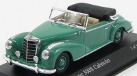 1:43 MERCEDES-BENZ 300S Cabriolet (W188) 1954 GREEN