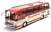 "1:43 автобус MERCEDES-BENZ O302 ""Pulay Reisen"" GERMANY 1972 Red/White"