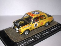 1:43 LADA 1600 R S. Brundza A. Brum 24th Rally Acropolis 1977
