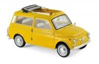 1:18 FIAT 500 Giardiniera 1968 Positano Yellow