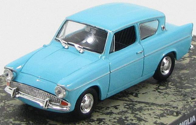 "1:43 Ford Anglia из к.ф. ""Dr. No"" 1960 (blue)"