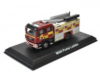 1:72 MAN TGL Pump Ladder Fire Truck пожарная лестница 2010