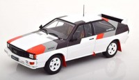 1:18 AUDI Quattro Group B Rally 1982 White