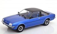 1:18 OPEL Manta B Berlinetta 1975 Metallic Blue/Black