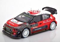 1:18 CITROEN C3 WRC Meeke/Breen/Loeb/Al Qassimi Presentation Version 2018