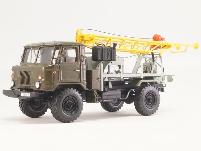 1:43 66 УГБ-1ВС буровая установка
