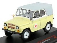1:43 УАЗ-469БГ 1977 Медицинский