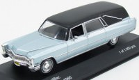 1:43 CADILLAC Hearse (катафалк) 1966 Metallic Light Blue/Black