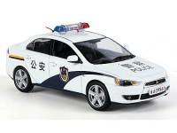 "1:43 MITSUBISHI LANCER Х ""China Police"" 2009"