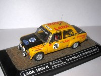 1:43 LADA 1600 R S.Brundza A. Girdauskas 25th Rally Acropolis 1978