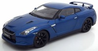 1:18 NISSAN GT-R (R-35) 2008 Blue Metallic