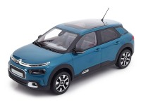 1:18 CITROEN C4 New Cactus (кроссовер) 2018 Emeraude Blue/White Deco