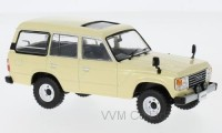 1:43 TOYOTA LAND CRUISER (LC60) 4х4 1982 Beige