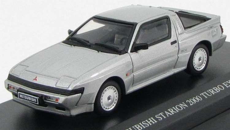 1:43 Mitsubishi Starion 2000 Turbo EX US Europe spec 1988 (grace silver)