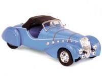 1:43 PEUGEOT 302 Darl'Mat Roadster 1937 Blue Metallic