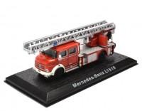 """1:72 MERCEDES-BENZ L1519 Metz DLK30 """"Feuerwehr"""" пожарная лестница 1975"""