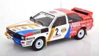 1:43 AUDI Quattro A1 #2 H.Demuth/W.Lux  Winner Hunsrueck Rally 1984