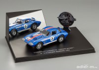1:43 Chevrolet Corvette Grand Sport Coupe #3 12h Sebring 1964