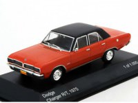 1:43 DODGE Charger R/T 1975 Red/Black