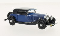 1:43 ROLLS ROYCE Phantom II Continental Windovers Coupe 1933 Blue/Dark Blue