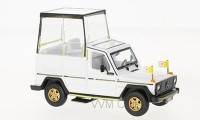 1:43 MERCEDES-BENZ 230GE PAPAMOBILE 2010 White