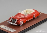 1:43 CADILLAC Series 62 Victoria Convertible (открытый) 1940 Red