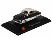 1:43 WARTBURG 311-3 Coupe 1958 Black/White