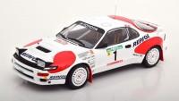 1:18 TOYOTA Celica GT4 (ST185) #1 C.Sainz/L.Moya 3 место Rally Portugal 1992
