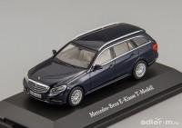 1:43 Mercedes-Benz E-Class T-Modell Avantgarde (S212) 2013 (blue)