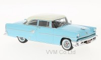 1:43 MERCURY Customs Sedan 2-Door 1955 Light Blue/White