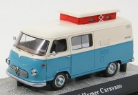 1:43 Borgward Hymer Caravano, L.e. 750 pcs. (light blue-white)