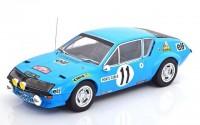 1:18 RENAULT Alpine A310 #11 Warmbold/Davenport Rally Monte Carlo 1975