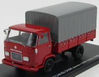1:43 HOTCHKISS DH60 бортовой грузовик с тентом 1959 Red
