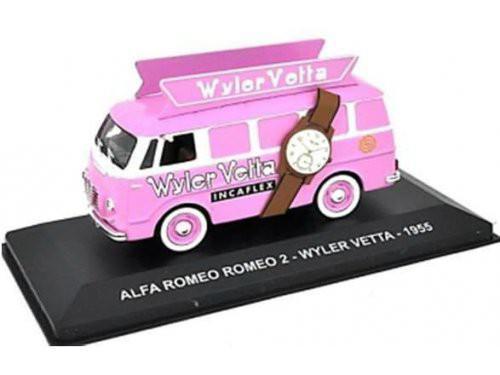 """1:43 ALFA ROMEO ROMEO 2 """"WYLER VETTA"""" 1955 Pink"""