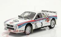 "1:18 LANCIA 037 Rally #3 ""Team Martini Racing"" W.Röhrl/Geistdörfer Rally Acropolis 1983"