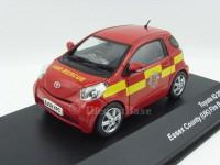 """1:43 TOYOTA IQ """"Essex UK Fire Brigade"""" (пожарный) 2009"""