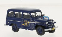 "1:43 JEEP Willys Station Wagon ""Michigan State Police"" 1954"