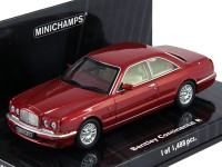 1:43 BENTLEY CONTINENTAL R 1996 RED METALLIC