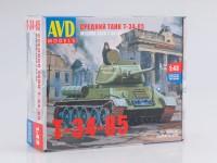 1:43 Сборная модель Средний танк T-34-85
