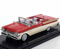 1:43 MERCURY Turnpike Cruiser Convertible 1957 Red/White