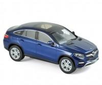 1:43 MERCEDES-BENZ GLE Coupe (C292) 2015 Brillantblau Metallic